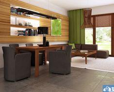 Proiect-de-casa-mica-Parter-64011-6 House Plans, Divider, How To Plan, Table, Room, Furniture, Design, Home Decor, 1