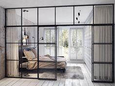 Come dividere stanze senza rimpicciolirle? http://repiuweb.com/index.php/new-blog/82-divisori-in-vetro-come-dividere-stanze-senza-rimpicciolirle