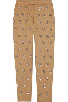 J.Crew|Sequined wool pants
