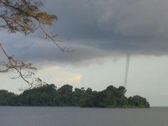 Tornado en la Isla de Solentiname