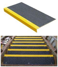 13 Step 100 Rubber Indoor Outdoor Stair Treads Non Slip
