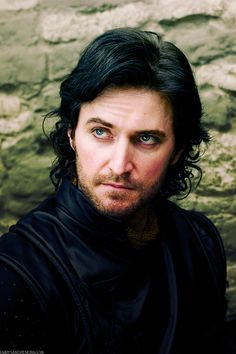 Gisborne in BBC's Robin Hood. AKA, the primary reason to watch the show…