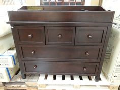 Dresser Top Changing Table - Home Furniture Design Best Changing Table, Changing Table Dresser, Dresser Top, Changing Pad, Home Furniture, Furniture Design, Dovetail Drawers, Planer, Flooring