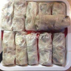 Vaření top receptu Vietnamské smažené závitky Asian Recipes, Ethnic Recipes, No Cook Meals, Fresh Rolls, Food Inspiration, Snack Recipes, Food And Drink, Vegan, Cooking