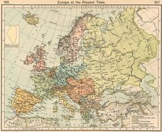 map of europe | Europe Historical Maps - Perry-Castañeda Map Collection - UT Library ...