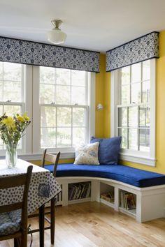 Kitchen Window seat, Thomas Buckborough & Associates, Boston