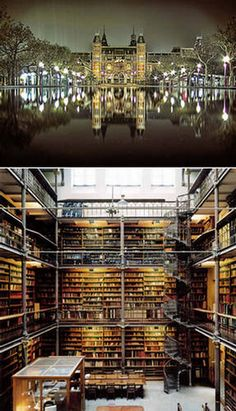 On My Bucket List...Visit World Famous Libraries And Read In Them :)