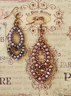 Linda's Crafty Inspirations: Video Tutorial - Esmeralda Earrings