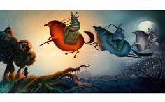Baba Yaga Russian Folk Tale by Nuri Keli