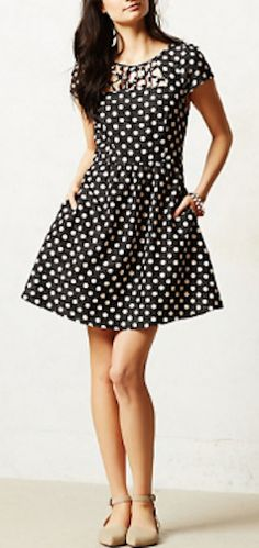 adorable polka dot dress http://rstyle.me/n/gggghr9te