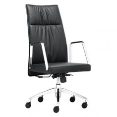 DEAN HIGH BACK OFFICE CHAIR BLACK