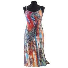 Snakeskin Slip Dress - New Age, Spiritual Gifts, Yoga, Wicca, Gothic, Reiki, Celtic, Crystal, Tarot at Pyramid Collection
