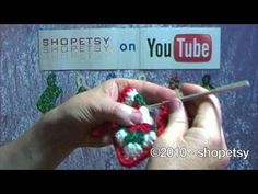 Crocheted Bootie Ornament Tutorial - PART 2 - YouTube