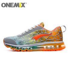 46.44$  Watch now  - Hotsale onemix 2016 air cushion original zapatos de hombre mens athletic Outdoor sport shoes women running shoes size 36-45