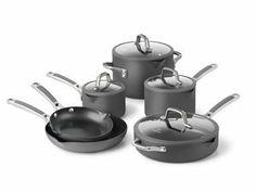 Calphalon Easy System Nonstick 10 Pc Pot and Pan Set Calphalon