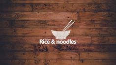 Handcrafted by tonymG. Broken Rice & Noodles picked this logo out of 47 designs submitted by 19 designers. Restaurant Menu Design, Restaurant Concept, Logo Restaurant, Noodle Restaurant, Food Logo Design, Logo Food, Branding Design, Logo Rice, Bowl Logo