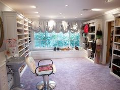 Elizabeth Taylor's shoe closet