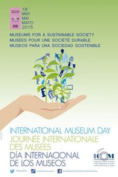 """18 de #mayo, """"Día Internacional de los Museos"""", este 2015 bajo el lema """"Museos para una sociedad sostenible"""" ☺︎ MÁS BONITO QUE UN SAN LUIS, apoyando un año más la iniciativa, visitaba ayer el """"Museu del Disseny"""" de Barcelona, especialmente la colección """"El diseño gráfico: de oficio a profesión (1940-1980)"""" y aunque esperábamos algo más (todo hay que decirlo)... por lo menos nos quitamos la espinita y, sobre todo, sirvió como excusa para disfrutar de un fin de semana de oxigenante escapada ☺︎"""