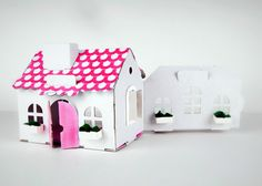 Cardboard House DIY Cardboard House for dolls Doll's cardboard House Diy Cardboard, Bird, Dolls, Outdoor Decor, House, Home Decor, Baby Dolls, Decoration Home, Home