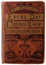 Everyday Cookery Mrs Beeton's Cookery Book - the original..... my husband bought me a first edition when he went to Scotland