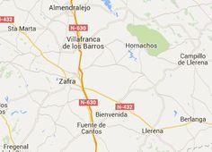 Areas de Servicio y Parkings para pernocta de autocaravanas en Badajoz