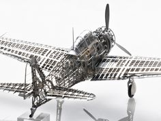 Zero by IMCTH IMCTH offers this one-of-a-kind skeletal (skinless) kit. This kit is a 1/32 scale Mitsubishi Zero A6M2 Type 21 model designed and engineered for the most accurate depiction possible of t