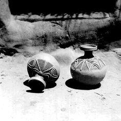 Decorated pots North Ika