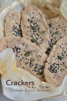 Cracker con Semi (sesamo, zucca, girasole)