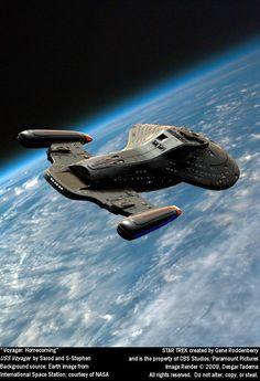 Voyager: Homecoming by Desgar on DeviantArt