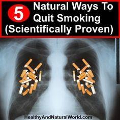 5 Natural Ways To Quit Smoking (Scientifically Proven) #stopsmokingessentialoils