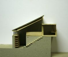 simple section model Section Drawing, College Library, Arch Model, Projects, Architecture Models, Furniture, Darwin, Cambridge, Stairs