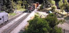 HO scale diorama with mirror | Flickr - Photo Sharing!