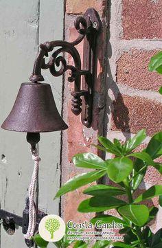 Колокольчик дверной Esschert Design - декор для дома и сада.  Дверной колокольчик, удивит Ваших гостей и оповестит об их приходе, а также доставит эстетическое удовольствие.