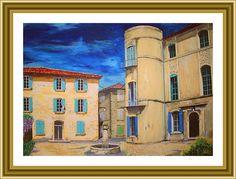 Grambois par Lucien Ruth... http://mistoulinetmistouline.eklablog.com/ http://www.my-art.com/isabelle-escapade/collections/provence https://www.facebook.com/pages/Mistoulin-et-Mistouline-en-Provence/384825751531072