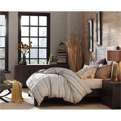 Ink+Ivy Monterey Smoke Brown Queen 6-Piece Bedroom Set