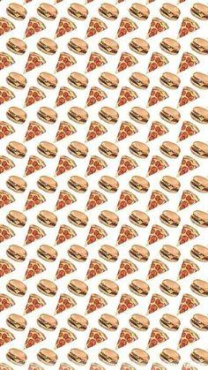 #wallpaper #background #pizza #hamburger #food