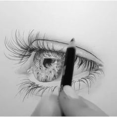 Amazing artwork😍 By 💫 Release your creativity with a bonus eBook Library by buying NIL Tech Pencil Set, just click THE LIN. Realistic Pencil Drawings, Art Drawings Sketches Simple, Pencil Art Drawings, 3d Art Drawing, Painting & Drawing, Amazing Artwork, Cool Artwork, Eyes Artwork, Arte Sketchbook