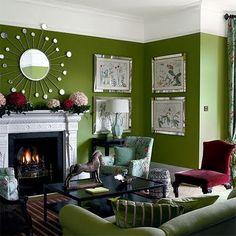 Beautiful Abodes: Using Green
