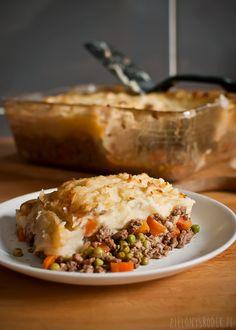 na świętego patryka: cottage pie z guinessem czyli zapiekanka z mięsa mielonego i ziemniaków