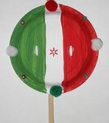 Easy Paper Plate Maracas for Cinco De Mayo!