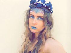 Tiara e maquiagens feitas por mim! Quem quiser saber como faz é só acessar meu canal no YouTube https://youtu.be/g4q3_BTDXtE