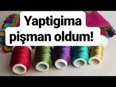 Yaptıgım en zahmetli oyalardan Bi tanesiydi.. - YouTube Art Supplies, Crochet, Youtube, Crochet Crop Top, Chrochet, Crocheting, Knits, Youtubers, Hooks