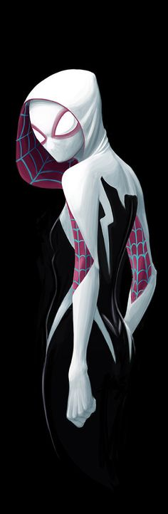 Spider-Gwen by David Joyce