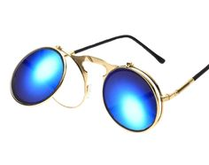 Sunglasses Vintage Punk Retro | Unicorn Trend-1 Mirrored Sunglasses, Unicorn, Punk, Retro, Vintage, Collection, Style, Swag, Vintage Comics