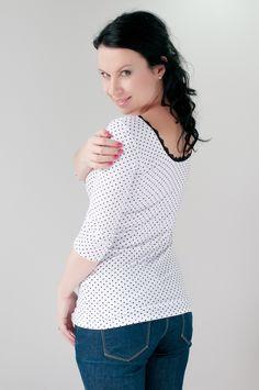 Li-La tričko Něžné ... Crochet Top, Tops, Women, Fashion, Moda, Women's, La Mode, Shell Tops, Fasion