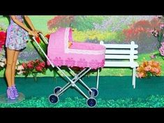 How to make a baby stroller for doll (Monster High, Barbie, etc) Copper Colour Palette, Colour Palettes, Monster High, Fashion Model Drawing, Sketch Poses, Diy Baby Shower Decorations, Barbie, Baby Burp Cloths, Blue And Copper