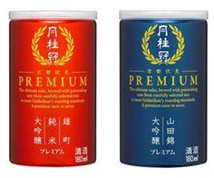 月桂冠「プレミアム月桂冠」2アイテム                                                                                                                                                                                 もっと見る Premium Tea, Beverage Packaging, Beverages, Drinks, Bottle Labels, Package Design, Whiskey Bottle, Liquor, Rice