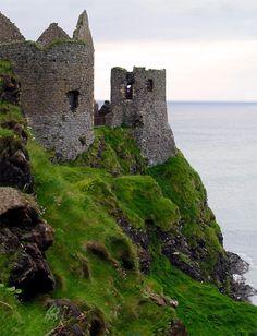 Dunluce Castle II- Taken in Northern Ireland near the Giant's Causeway.