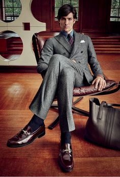 Introducing another picture from the Men's Autumn Winter 2015-16 Campaign. Discover all the Tod's campaign at www.tods.com/tods-aw16-mens-adv #tods #fw1516