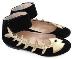 DEAD FISH - Louloux - Sapatos Colecionáveis Esse já é da minha pequena